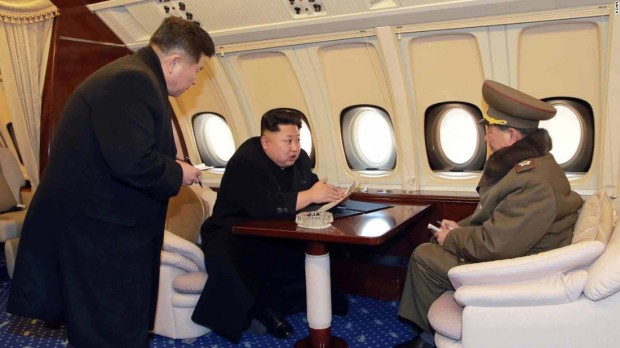 Kim Jong-un's Private Luxury Jet