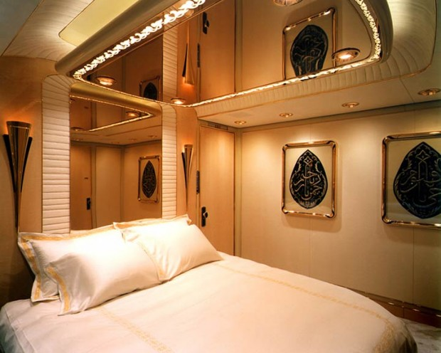 Bedroom In Plane