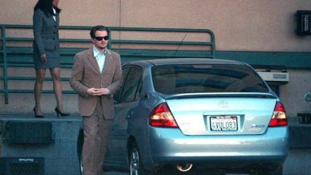 Leonardo DiCaprio Toyota Prius Car