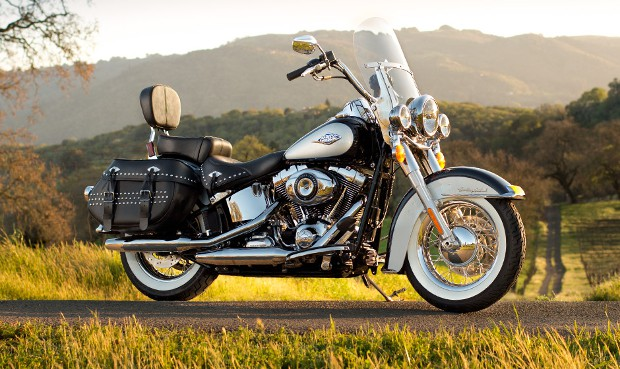 Prince Harry Bike Harley-Davidson Softail Classic