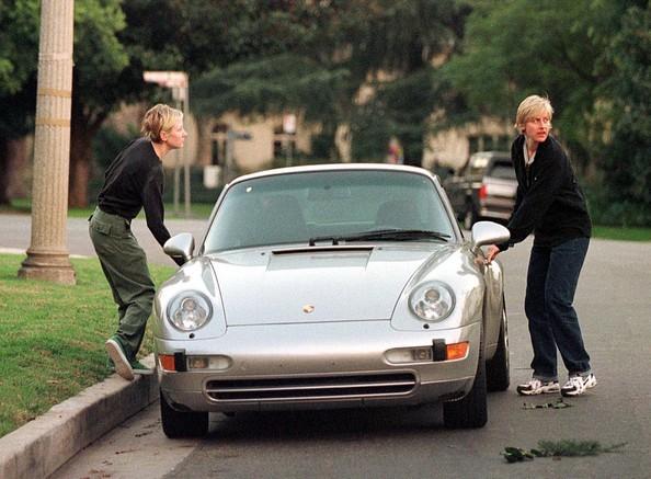 Ellen Lee DeGeneres Car