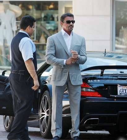Sylvester Stallone Auto
