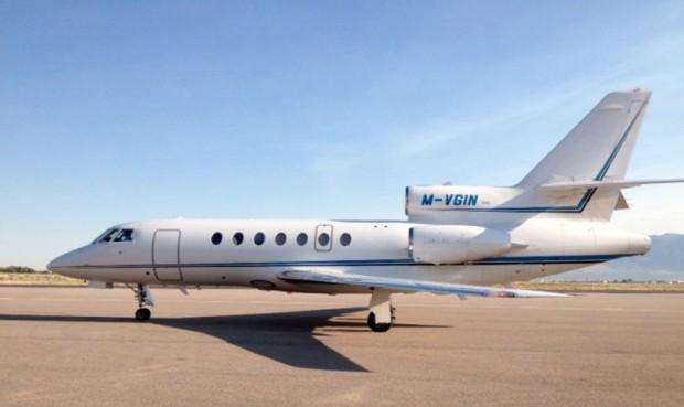 Richard Branson Jet
