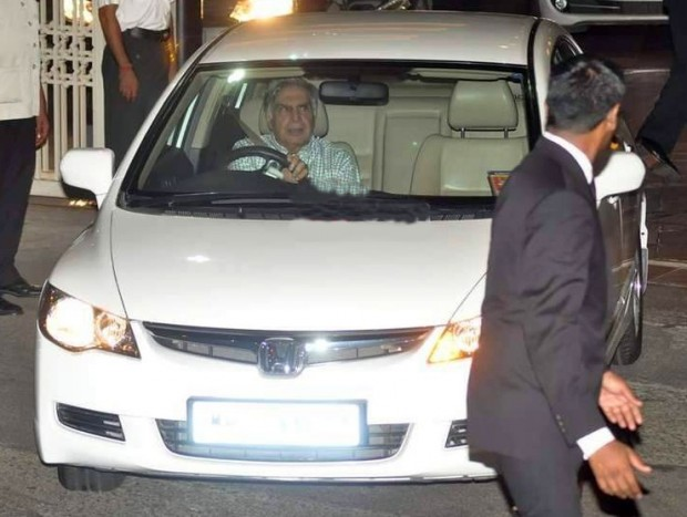 Ratan Tata in His Honda Civic