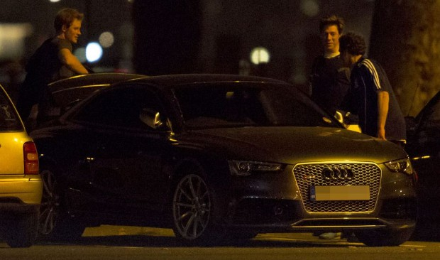 Prince Harry Car Audi