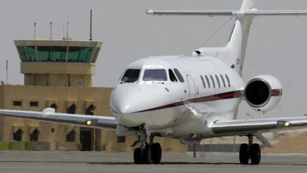 Vijay Mallya Private Jet Hawker HS125