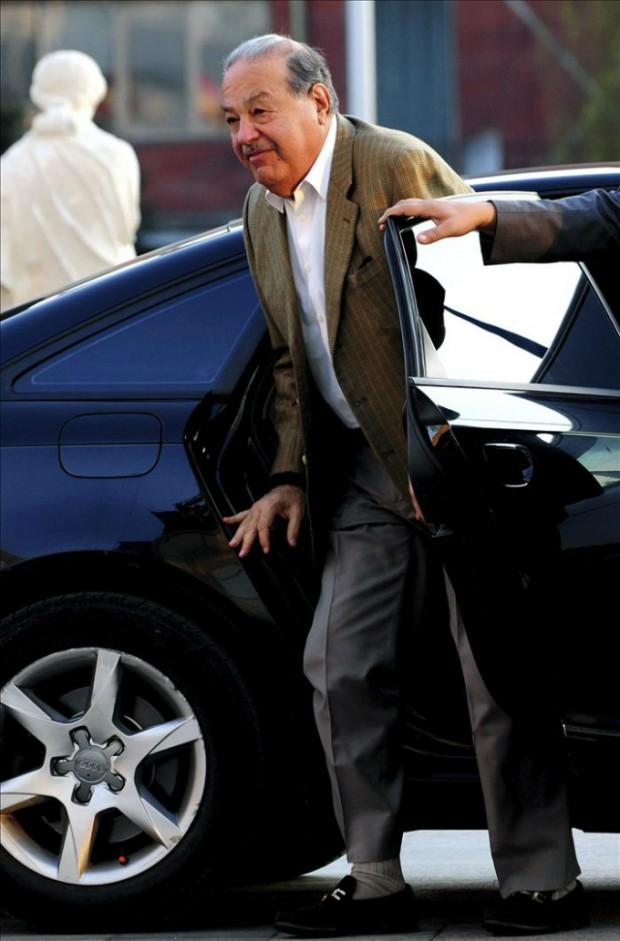 Carlos Slim's Audi