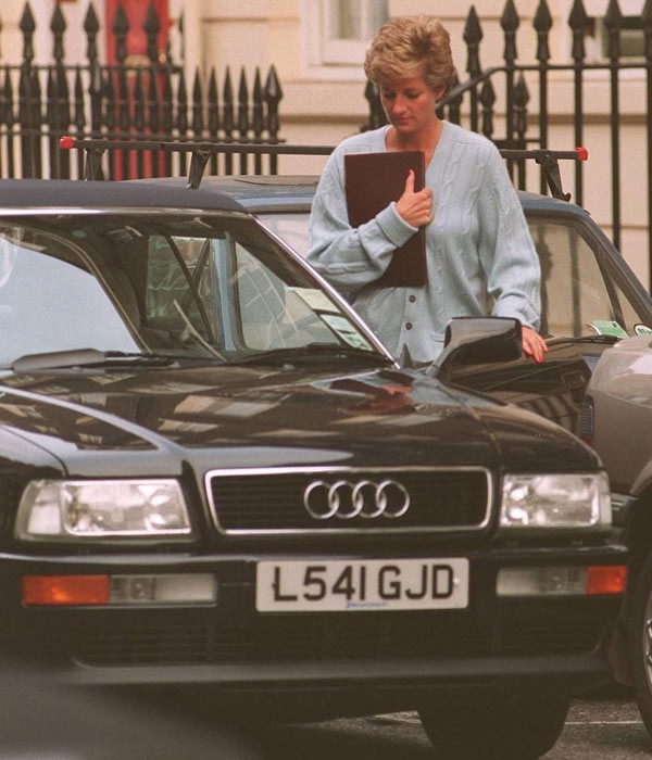 Audi of Princess Diana