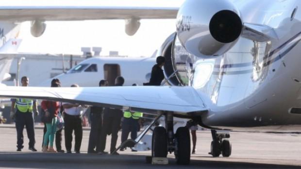 Francois Pinault private jet