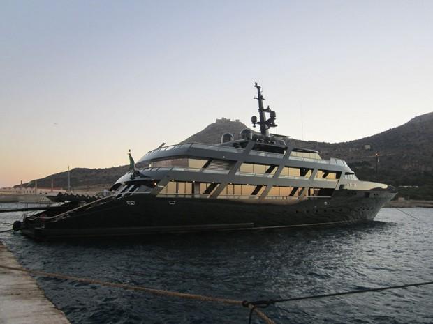 Armani's MAIN Yacht
