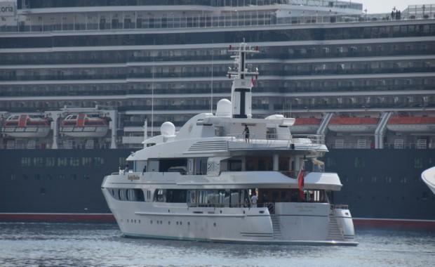 Sergio's yacht Lady Marina