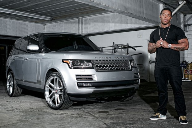 Ray Ricee with his Range Rover