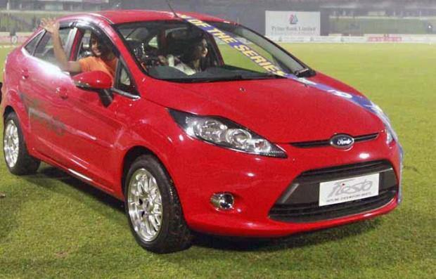 Shakib Al Hasan Car Ford Fiesta