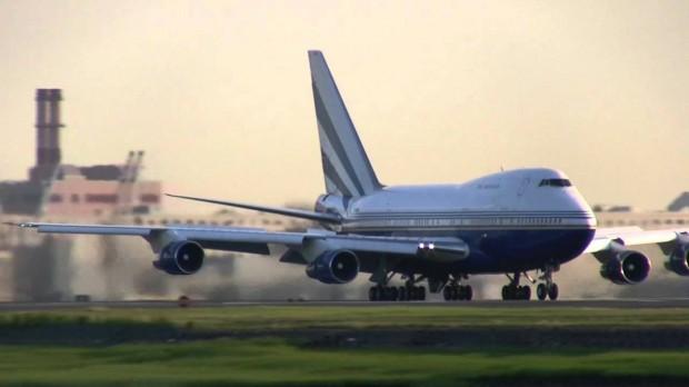 Sheldon Adelson's Boeing 747