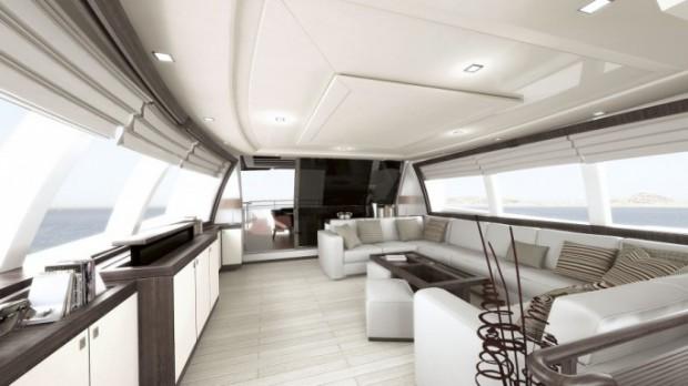 Silvio Berlusconi's Custom 124 yacht