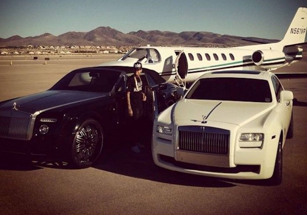 Tyga's Rolls Royce Collection