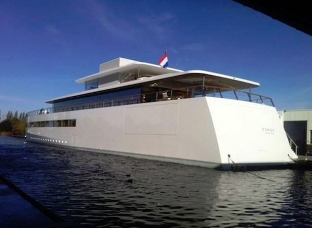 A Close View Of Venus Yacht