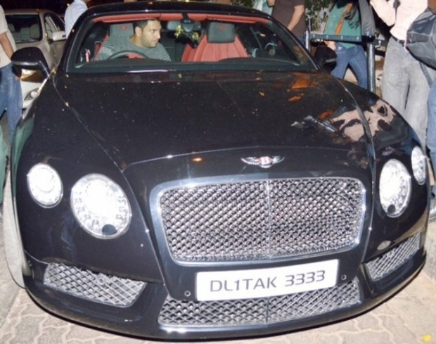 Yuvraj Bentley continental