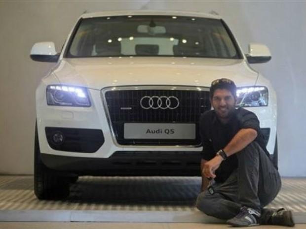 Yuvraj Singh Car Audi Q5