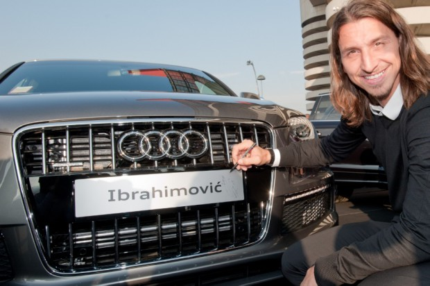 A gift from Audi to Zlatan Ibrahimovic