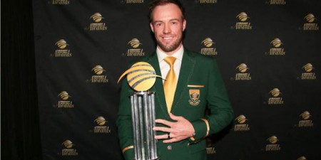 South African Cricketer of the Year, ICC ODI Player Of The Year