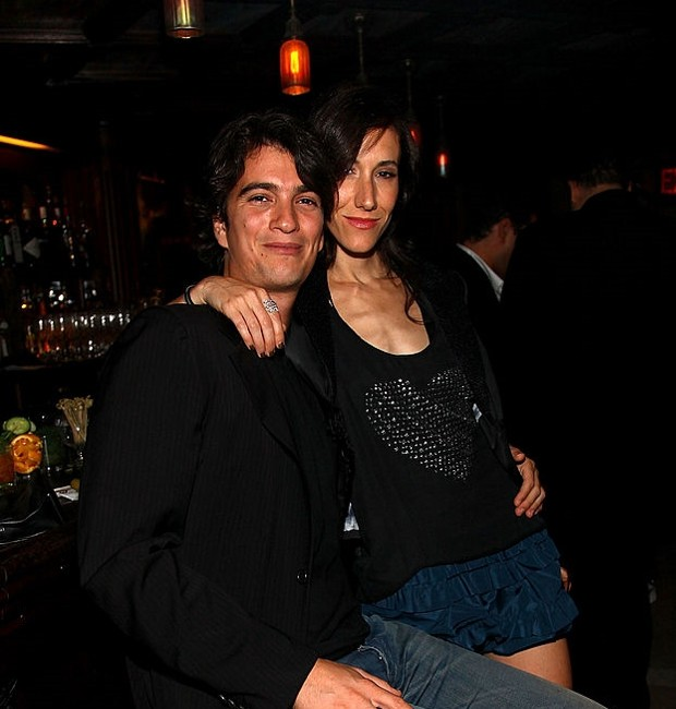 Adam Nuemann Couple at AnOther Magazine and Hudson Jeans Dinner