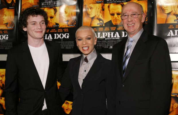 Anton Yelchin with his Parents