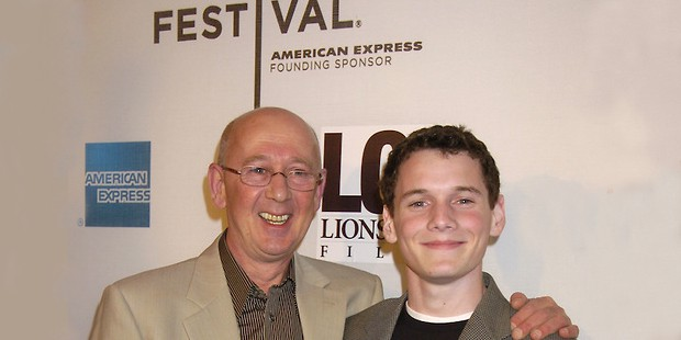 Anton Yelchin with his father Viktor Yelchin