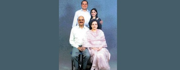 Sabeer Bhatia and His Family