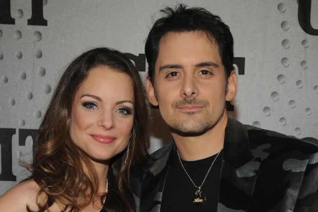 Brad Paisley and his Wife Kimberly Williams