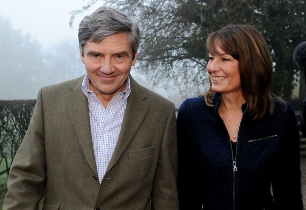 Kate Middleton Parents Carole Middleton and Michael Middleton