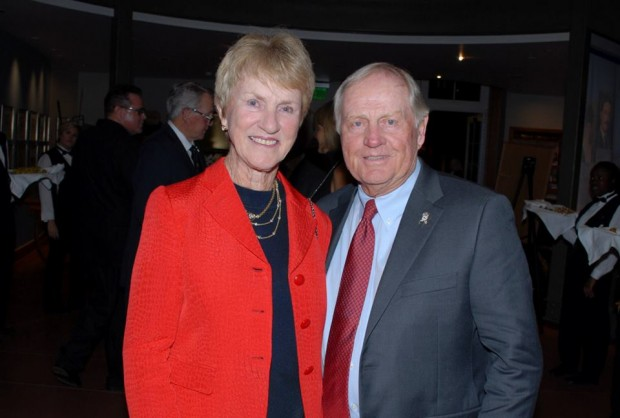 Jack and Barbara at Century of Golf Gala