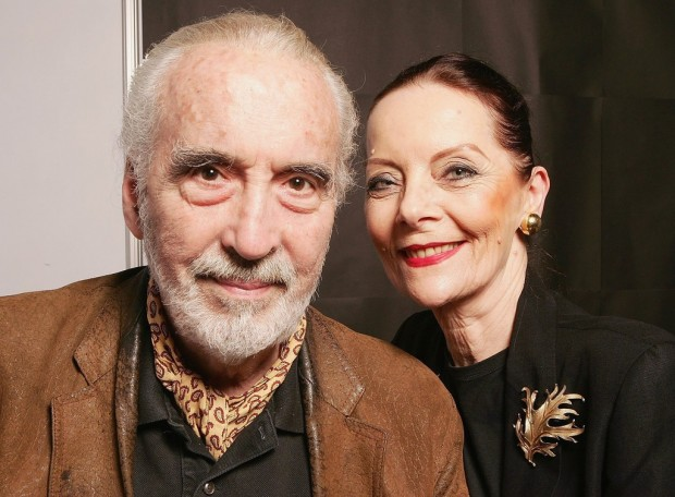 Christopher Lee and his Wife Birgit at 2006 Film Festival