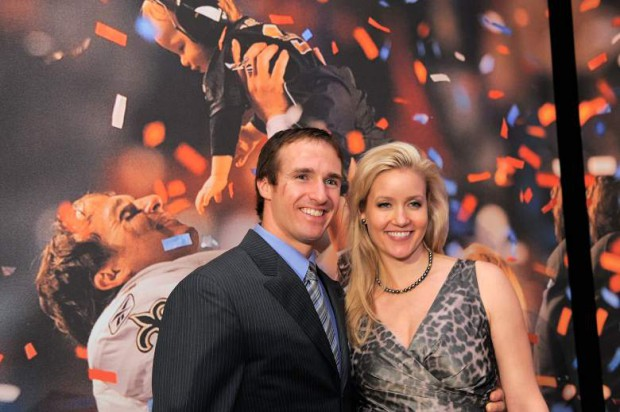 Drew Brees with his lady love Brittany Brees