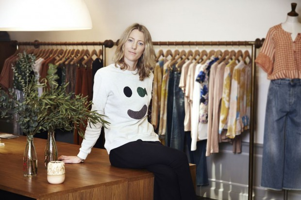 James Dyson daughter Emily Dyson in her Boutique