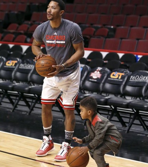 Father and Son Practicing Together
