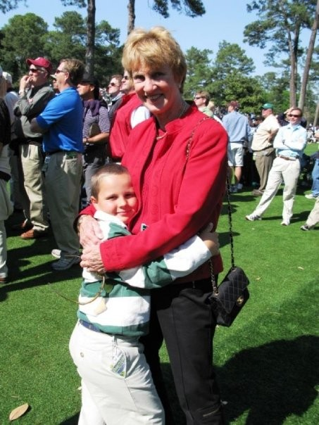 Barbara with Grandson GT Nicklaus