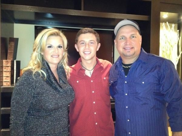 Garth Brooks and Trisha Yearwood Son