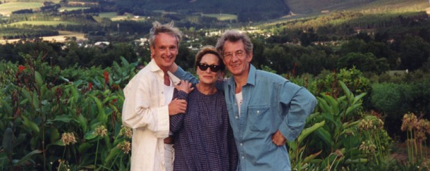 Ian and Sean with Sian Phillips