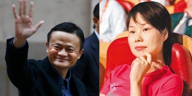 Jack Ma' Spouse Zhang