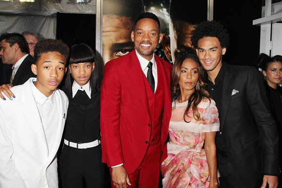 Jaden Smith Family