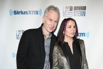 Mcenroe and His Wife Patty Smith