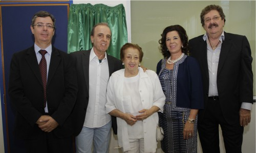 Jose Luis Cutrale with his wife Rossana at Inaguration of a cancer hospital