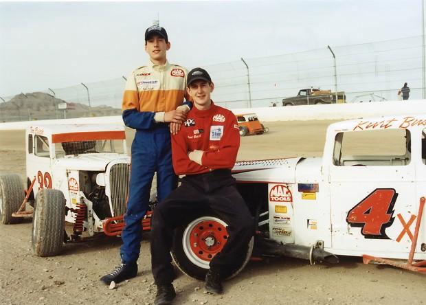 Kyle Busch and His Brother Kurt Busch