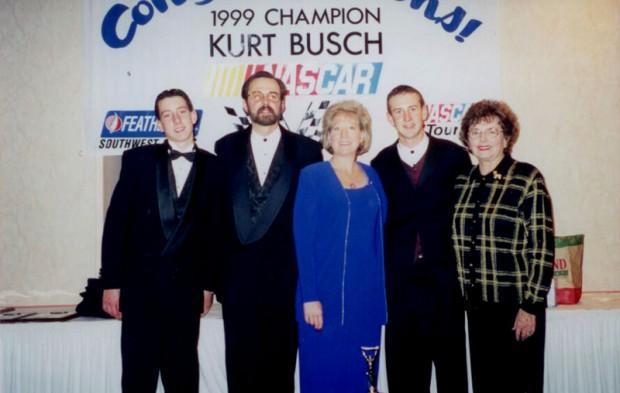 Kyle Busch's Family