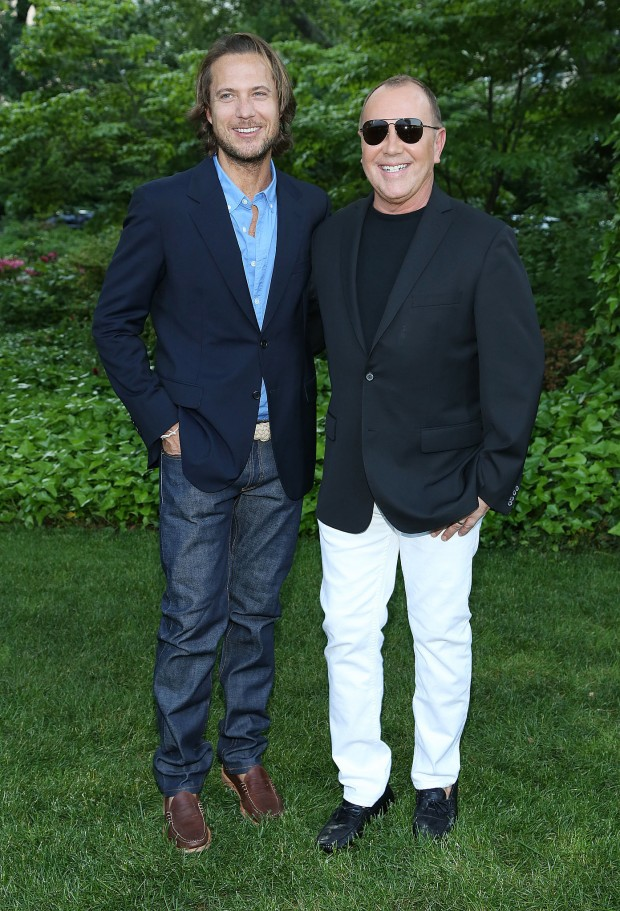Michael Kors and Lance LePere