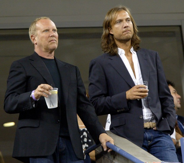 Michael Kors with his Spouse Lance LePere