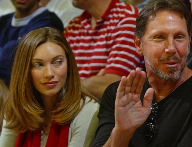 Larry Ellison Wife