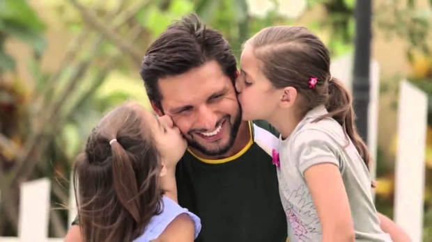 Afridi, The Loving Father