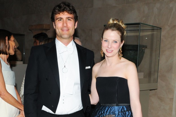 Marissa Mayer With Her Husband at London